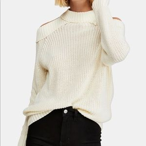 Free People - Half Moon Bay Pullover Sweater Ivory